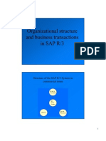 SaP Org Structure