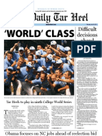 The Daily Tar Heel for June 16, 2011