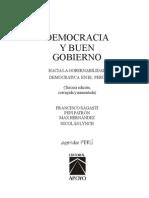 Democracia y Buen Gobierno (Agenda Perú)