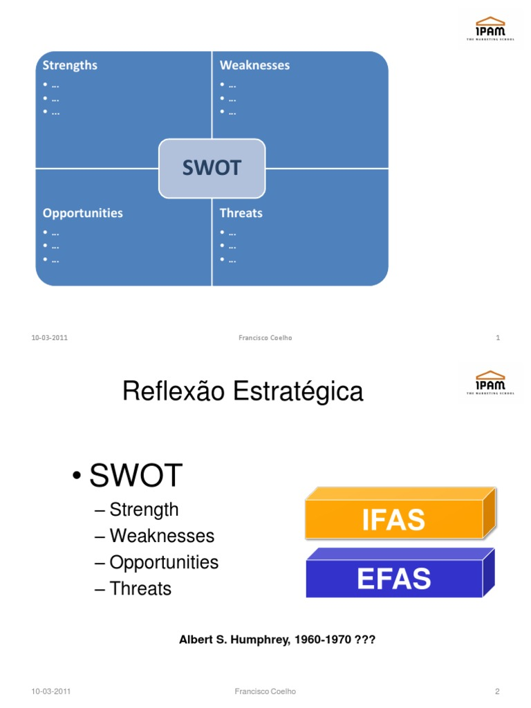 swot factor analysis Swot stands for strengths, weaknesses, opportunities and threats a swot analysis can be carried out for a specific project, organisation or even a whole sector.