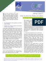 Centre Eur Pol Studies - Analysis Irish No Vote 19 06 2008