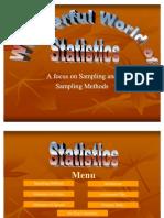 Statistics Sampling and Methods WBHS