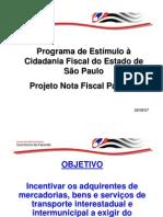 Projeto Nota Fiscal Paulista