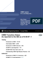 CMMI Update V1.2 and Beyond...