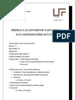 PRIPREMA- kineziologija