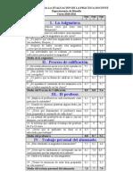 Encuesta Practica Docente - 2010-11 Juanjo