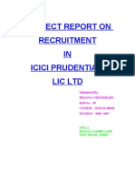 Recruitment by Icici Prudential 1