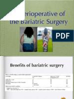 Bariatric perioperative