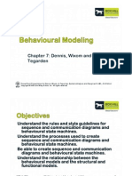 ICT117 Week09 Behavioural Modelling