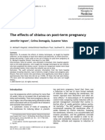 The Effects of Shiatsu on Post-term Pregnancy