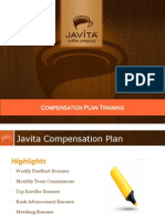 Javita Compensation Plan Training Powerpoint