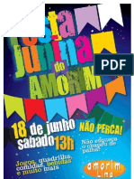 Festa Junina do Amorim - 2011