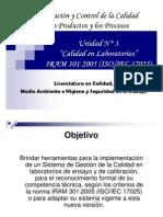 Presentación Tema Norma ISO 17025 Q en Laboratorios Rev.0
