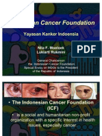 Dr. Nila Moeloek - Indonesian Cancer Foundation Presentation