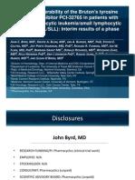 Pharmacyclics ASCO2011 Trial) Final