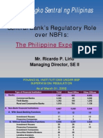 Central Bank's Regulatory Role