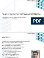 Advanced Development Techniques Using OBIEE Plus