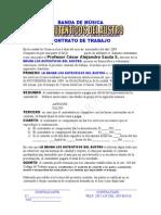BANDA DE MÚSICA CONTRATOS #2