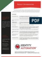 IDAUTO Product Differentiators
