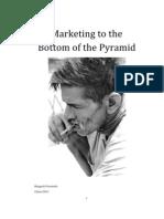 Marketing to the BOP - Rangesh Fernando