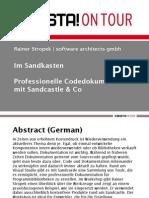 Microsoft Help and Sandcastle