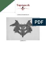 Psicologia - Laminas de Rorschach