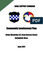 Spring Field Community Involvment Plan - June 2011