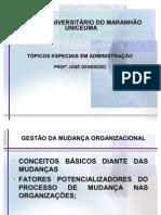 TRABALHO DE GESTÃO DE MUDANÇAS