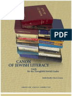 Can on of Jewish Literacy Guide 2005