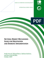 SECTORAL MARKET Mechanisms - Issues for Negotiation and Implementation