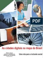 As cidades digitais no mapa do Brasil
