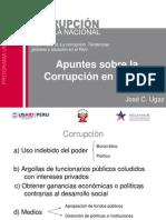 Clase maestra- La corrupción. Tendencias globales y situación en el Perú