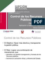 Control de los recursos públicos