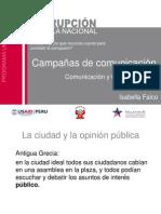Campañas de comunicación