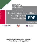 Financiamiento de la política