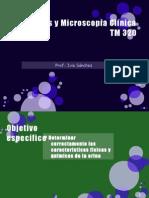 Urinálisis y Microscopía Clínica