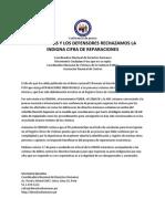 Confererencia de Prensa REPARACIONES