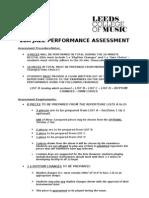 2BA Jazz Repertoire List Examination Guidelines