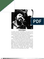 David Baker - Charlie Parker, Alto Saxophone