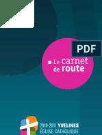 Le carnet de route  - Synode - Yvelines 2010-2011