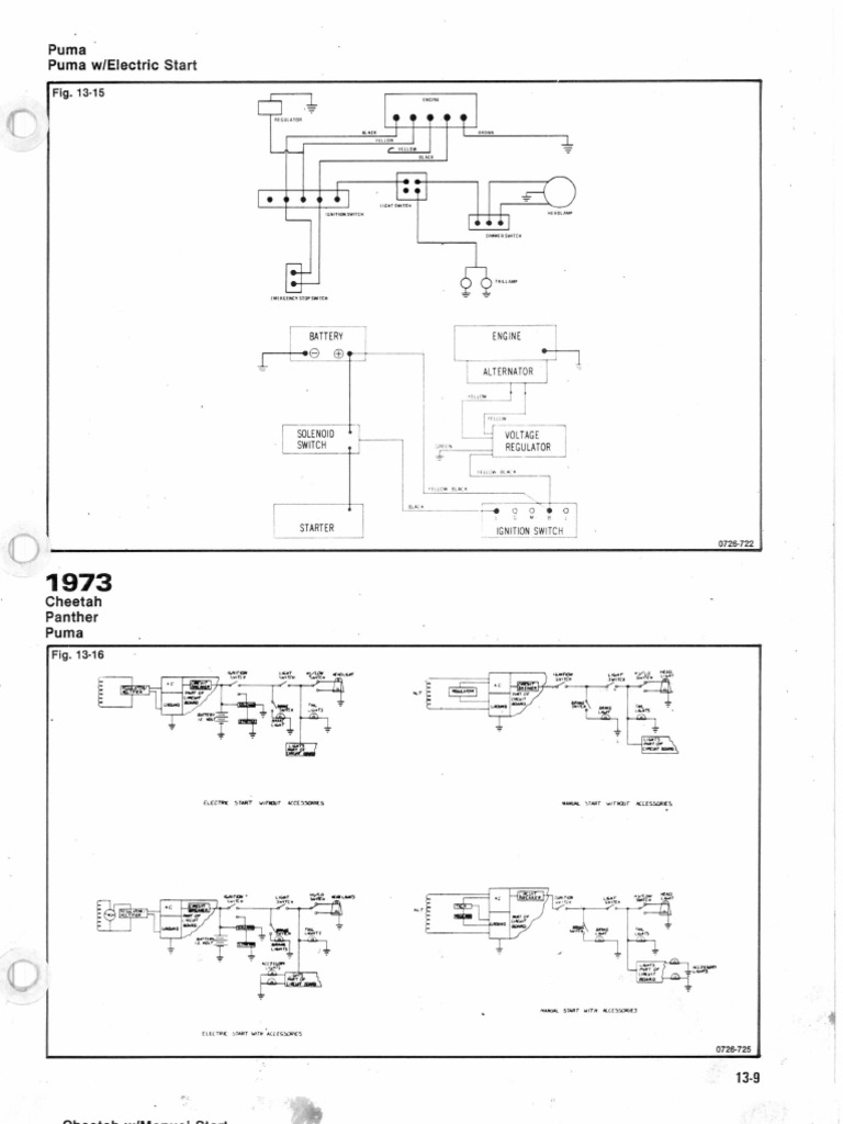 [SCHEMATICS_4NL]  1973 - Wiring Diagram Arctic Cat | Arctic Cat Lynx Wiring Diagram |  | Scribd