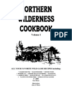 Northern Wilderness Cookbook Volume i