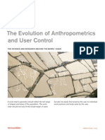 Se the Evolution of Anthropometrics and User Control