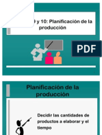 Plan Maestro de Produccion