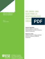 Cuaderno de ISO26000