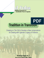 Tradition in Transition Revised Edition May 2010