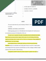 Horace v LaSalle Summary Judgment