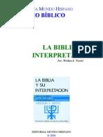 (2) La Biblia y Su Interpretacion
