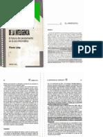 Las tecnologías de la inteligencia P Lévy001
