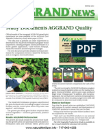 Aggrand News Winter 2011